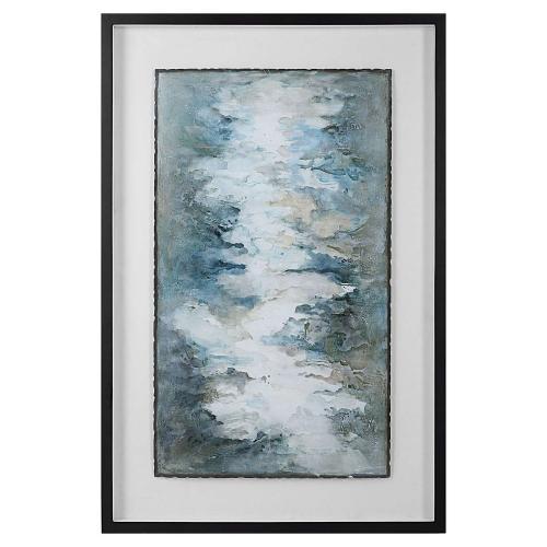 Lakeside Grande Framed Abstract Print