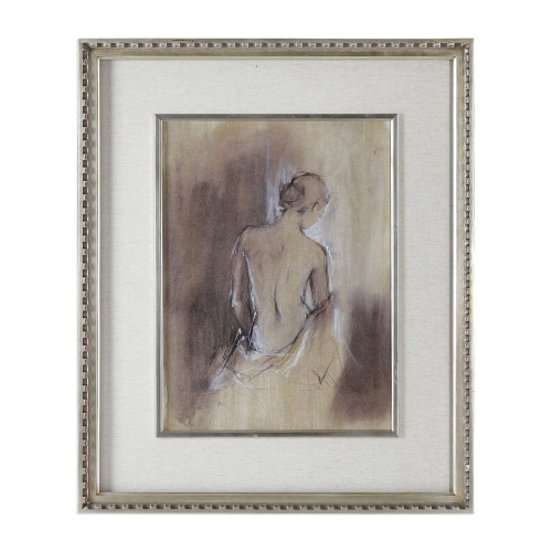 Contemporary Draped Figure Feminine Art