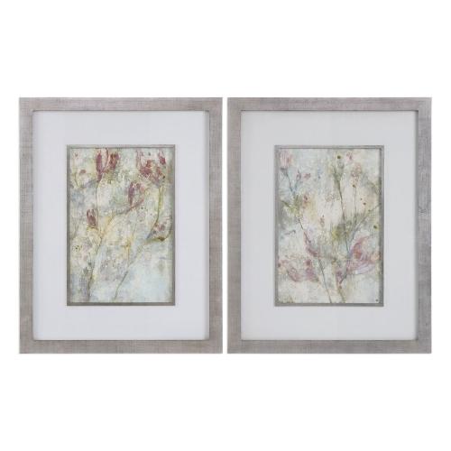 Flower Dreams Pastel Prints - Set of 2