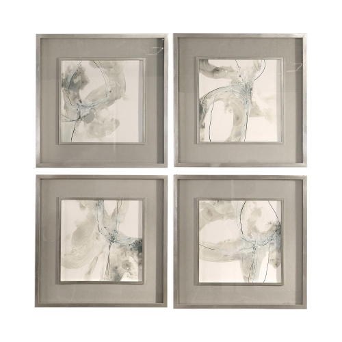 Divination Abstract Art - Set of 4