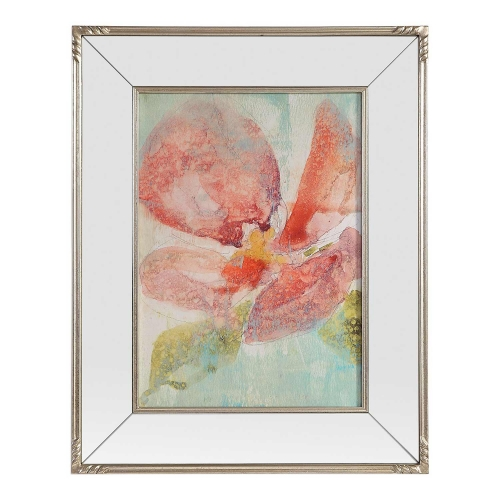Veiled Poppy Floral Art