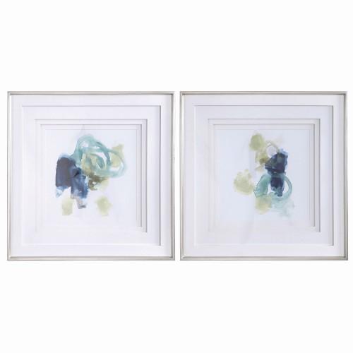 Integral Motion Framed Prints - Set of 2