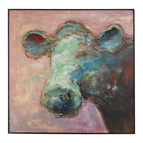 Matty The Cow Animal Art
