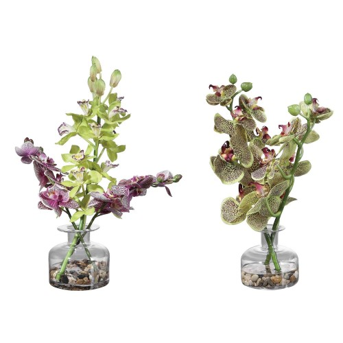Malin Orchid Bud Vases - Set of 2