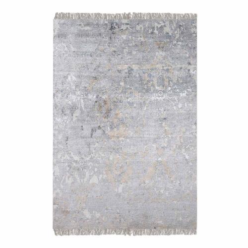 Bhutan 6 x 9 Rug - Gray