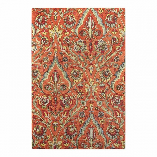 Keziah 5 x 8 Rug - Burnt Red