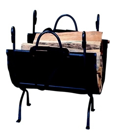 Deluxe Wrought Iron Log Holder-Uniflame