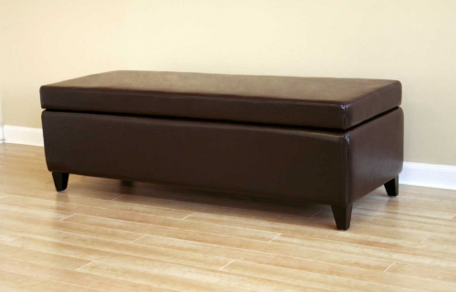 125 Full Leather Bench