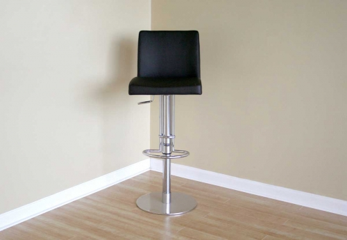 Marcus Black Bar Stool