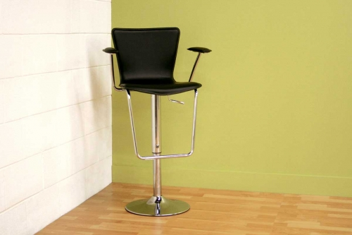 ALC-2219 Black Bar Stool