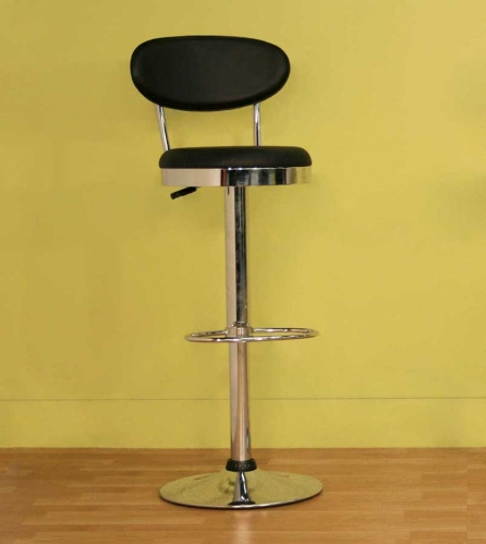 Achilla Black Bar Stool