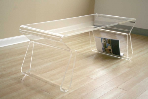 FAY-9948 Clear Coffee Table
