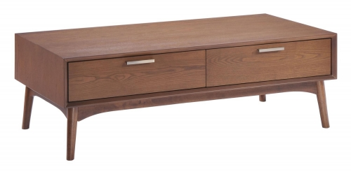 Design District Coffee Table - Walnut