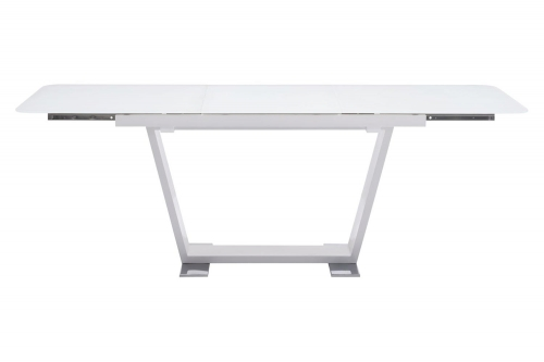St Charles Extension Dining Table - White