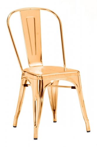 Elio Dining Chair - Gold