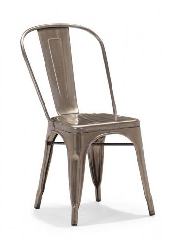 Elio Dining Chair - Gunmetal
