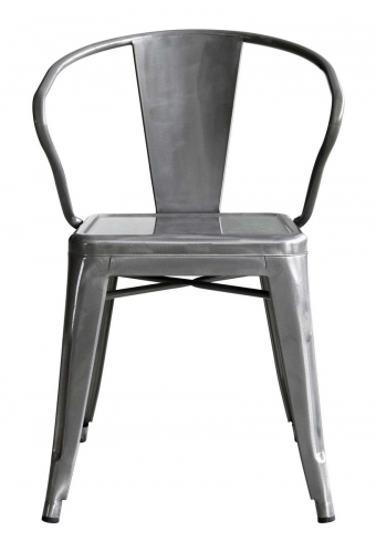 Helix Dining Chair - Gunmetal