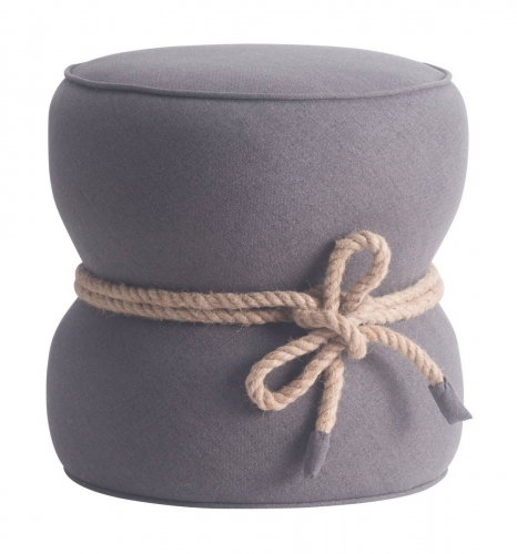 Tubby Ottoman - Gray