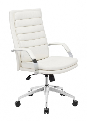 Director Comfort Office Chair - White