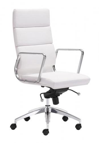 Engineer High Back Office Chair - White