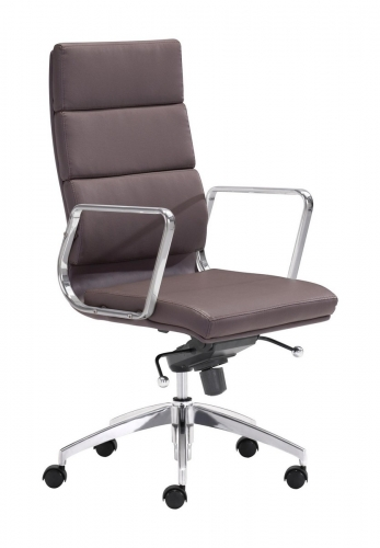 Engineer High Back Office Chair - Espresso