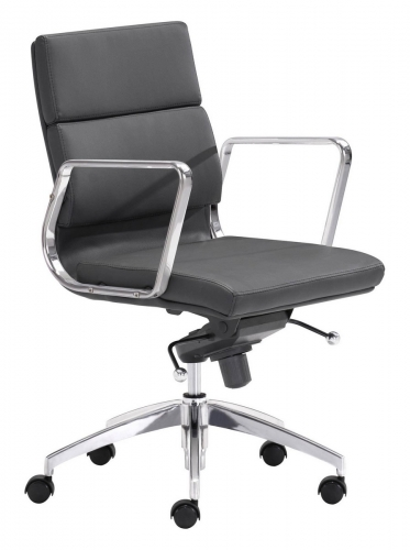 Engineer Low Back Office Chair - Black