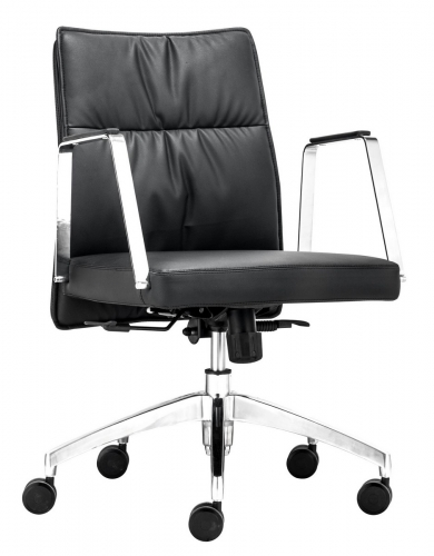 Dean Low Back Office Chair - Black