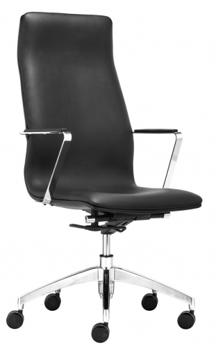 Herald High Back Office Chair - Black
