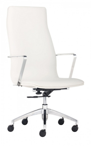Herald High Back Office Chair - White