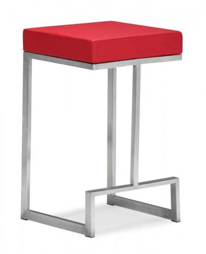 Darwen Counter Chair - Red