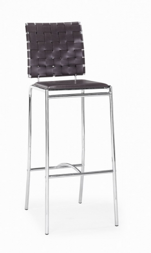 Criss Cross Barchair - Black