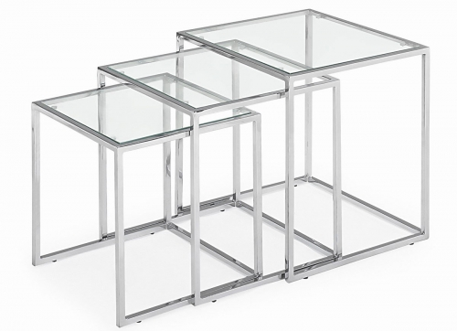 Pasos Nesting Tables - Clear