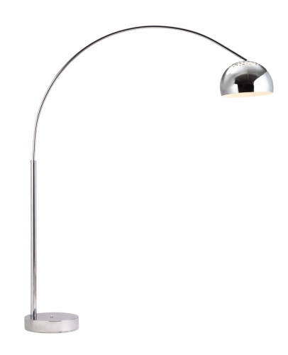 Galactic Floor Lamp - Chrome