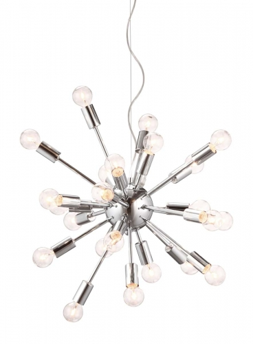 Pulsar Ceiling Lamp - Chrome