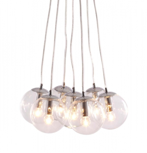 Decadence Ceiling Lamp - Clear
