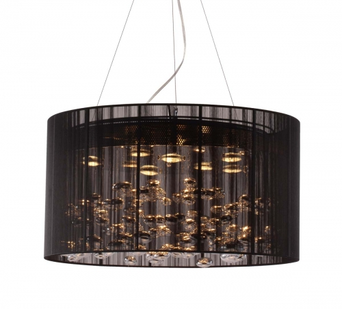 Symmetry Ceiling Lamp - Black