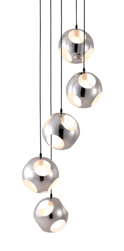 Meteor Shower Ceiling Lamp - Chrome