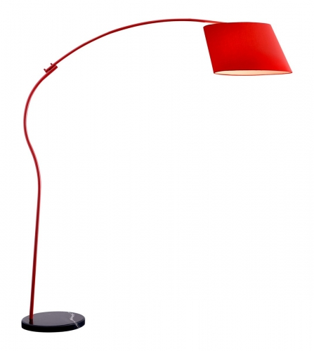 Derecho Floor Lamp - Red