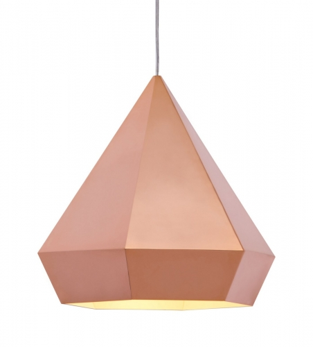 Forecast Ceiling Lamp - Rose Gold