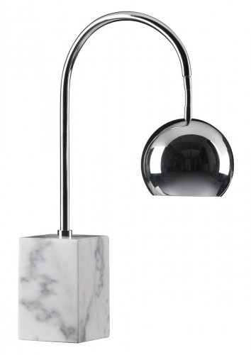 Run Table Lamp - Chrome