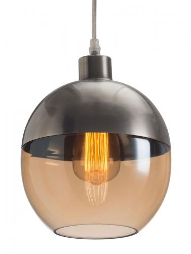 Trente Ceiling Lamp - Satin/Amber