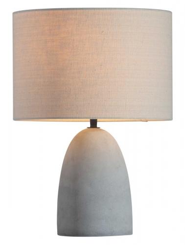 Vigor Table Lamp - Beige/Concrete Gray