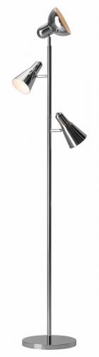 Shuttle Floor Lamp - Chrome
