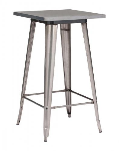 Olympia Bar Table - Gunmetal