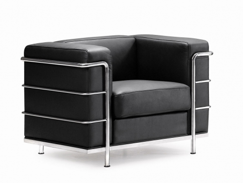 Fortress Armchair - Black
