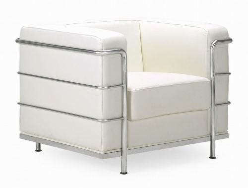 Fortress Armchair - White