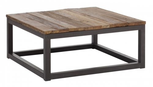Civic Center Square Coffee Table - Distressed Natural