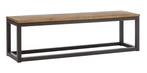 Civic Center Bench - Distressed Natural