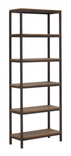 Mission Bay Tall 6 Level Shelf - Distressed Natural
