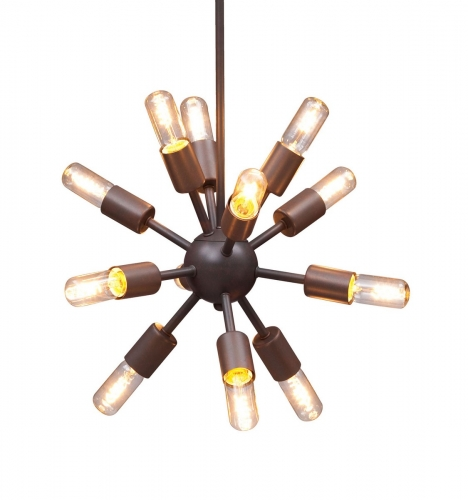 Sapphire Ceiling Lamp Small - Rust